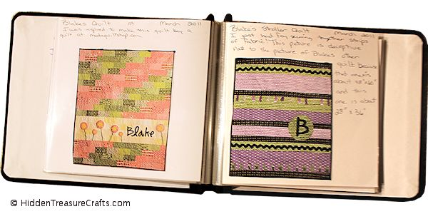 inside the quilt journal