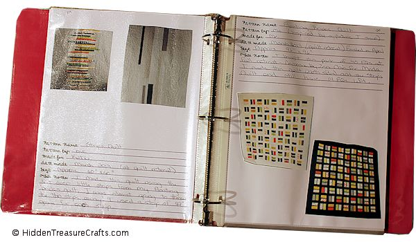 quilt journal binder