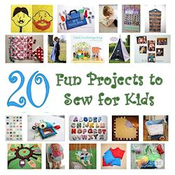 20 fun projects to sew for kids 250