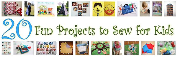 20 Fun Projects to Sew for Kids