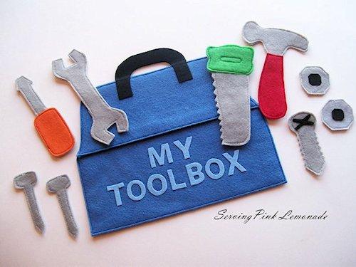 Felt Tool Box