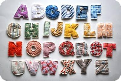 Plush Alphabet Tutorial