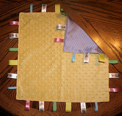 Ribbon Tab Blanket