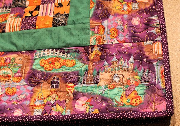 Halloween Quilting Design