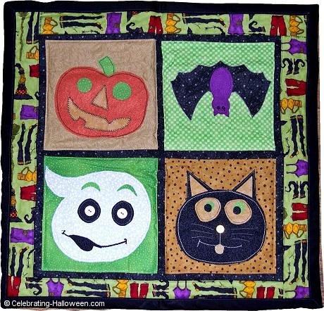 Applique Halloween Wallhanging