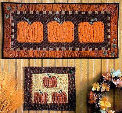 Halloween Quilted Wall Hangings