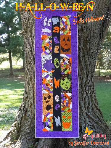 12 Halloween Wall Hanging Quilt Patterns | Hidden Treasure Crafts ... : wall hanging quilt patterns - Adamdwight.com