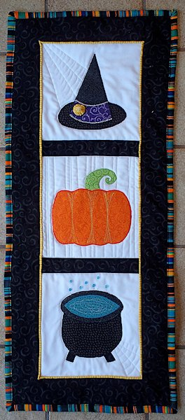 12 Halloween Wall Hanging Quilt Patterns Hidden Treasure