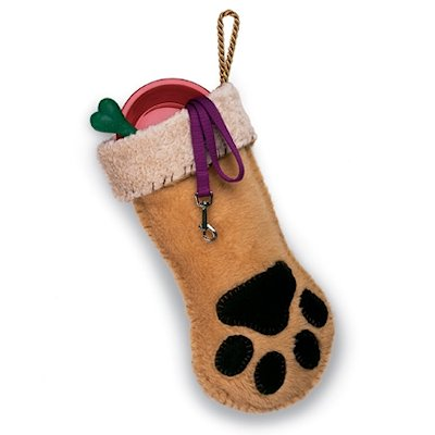 Dog Paw Stocking