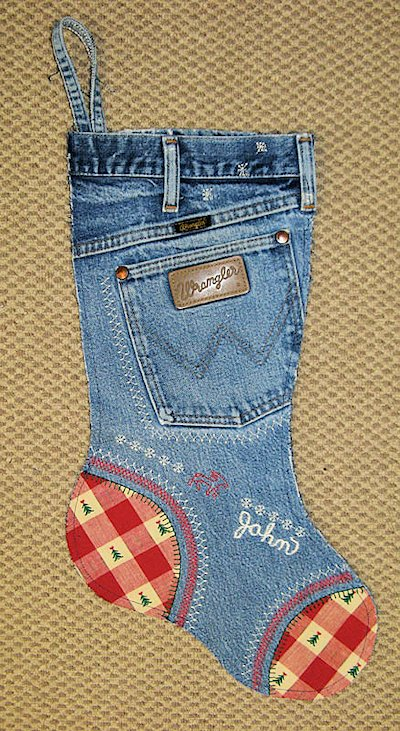 Blue Jeans Stocking