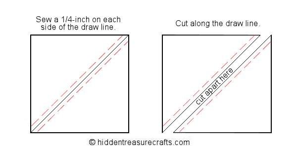 Sew the Half Square Triangles