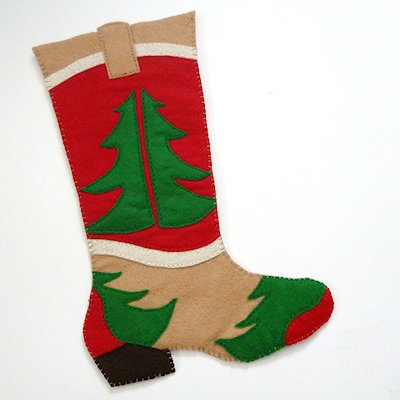 Cowboy Boot Stocking Pattern