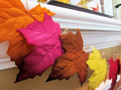 Fall Leaf Garland