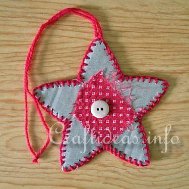 Primative Star Ornament