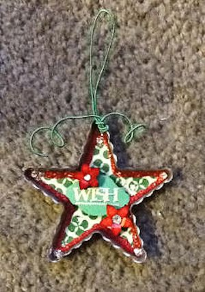 Cookie Cutter Star Ornament