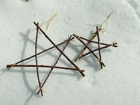 Rustic Twig Star