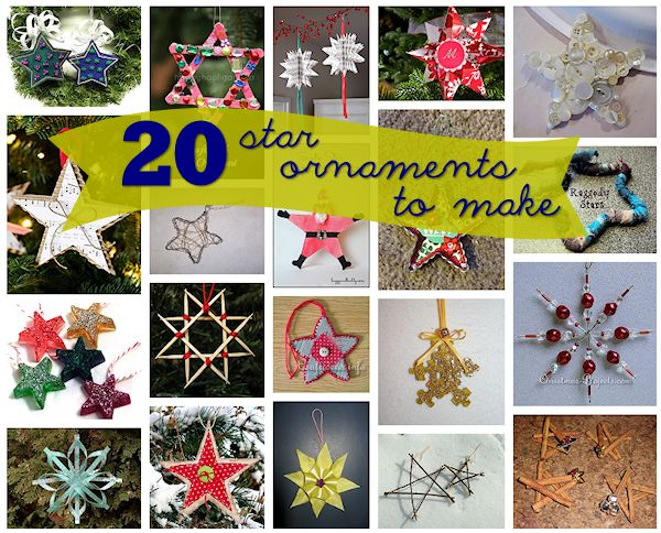 20 Star Ornaments