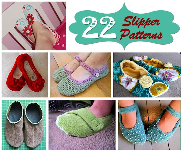 22 Slipper Patterns