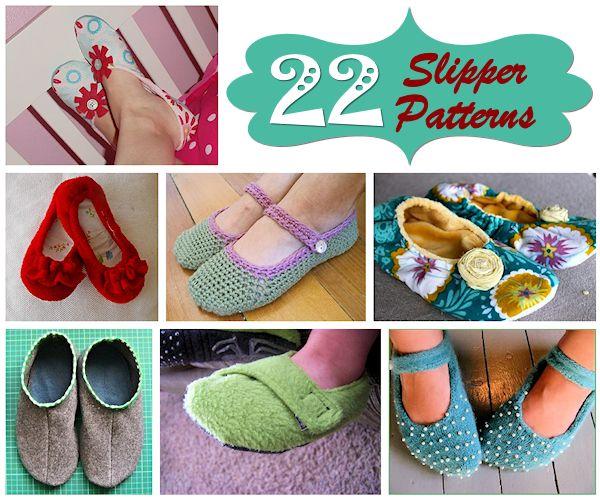 22 Slipper Patterns