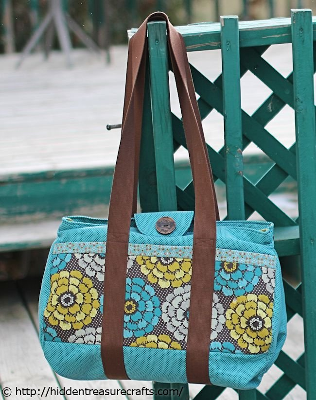 Blue Big Easy Tote