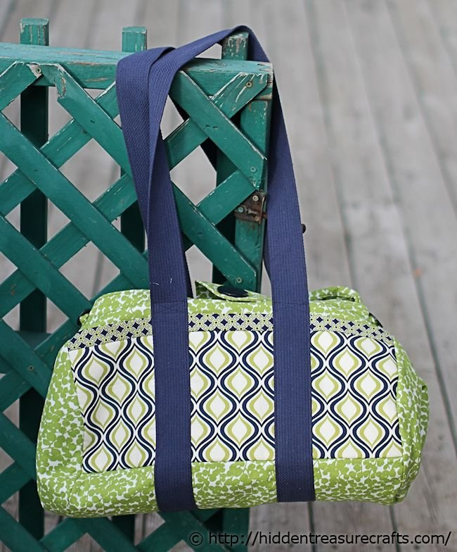 Green Big Easy Tote Bag