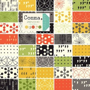 Comma Fabric by Zen Chic