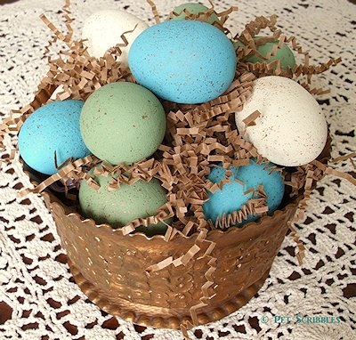 Faux Bird Eggs