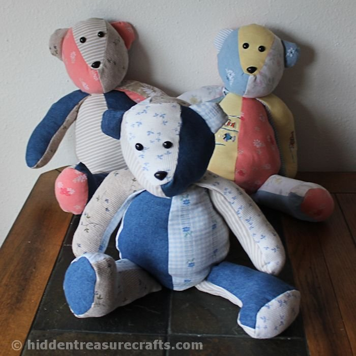 memory bears for my kids