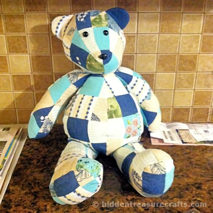 photograph about Teddy Bear Sewing Pattern Free Printable referred to as How toward Crank out a Memory Endure Concealed Treasure Crafts and Quilting