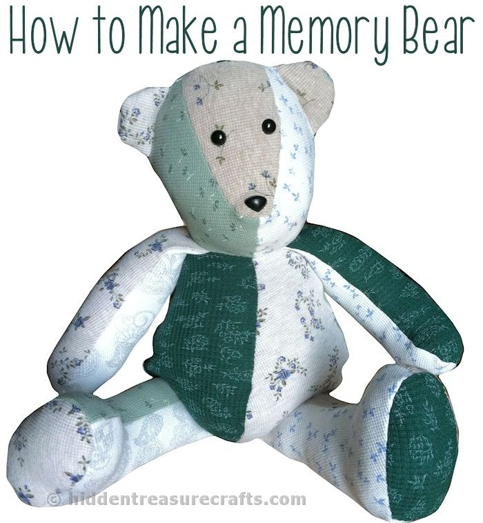 graphic regarding Teddy Bear Sewing Pattern Free Printable known as How toward Produce a Memory Go through Concealed Treasure Crafts and Quilting