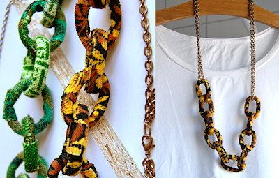 1 Fabric Chain Necklace