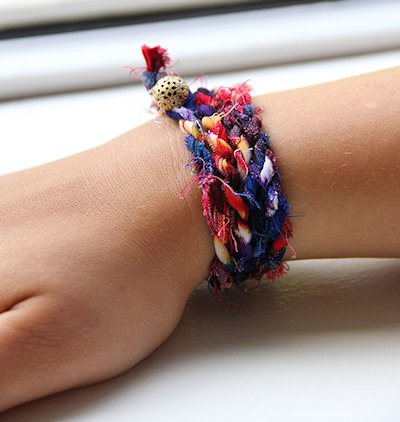 Cloth Wrap Bracelet