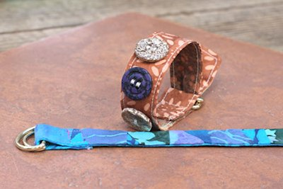 Belt-Style Fabric Bracelet