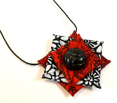 Stiffened Fabric Jewelry