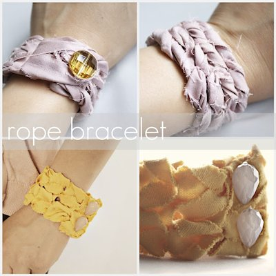 Rope Bracelet Tutorial