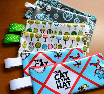 Oilcloth Pencil Case Pattern