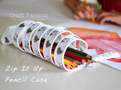 Zip-It-Up Pencil Case