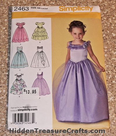 frozen dress pattern