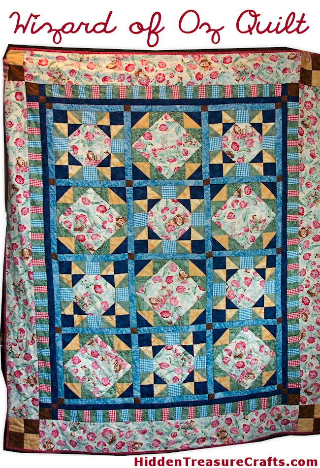 Quilt #7 - Wizard of Oz