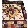 6 - Flannel Kaleidoscope Quilt