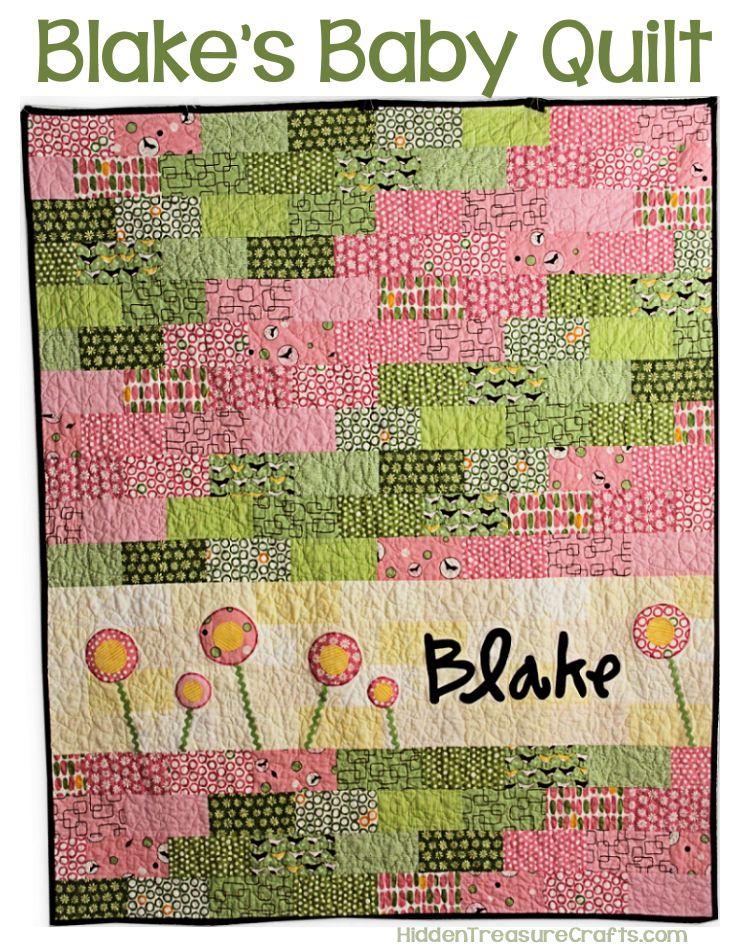 Blake's Baby Quilt