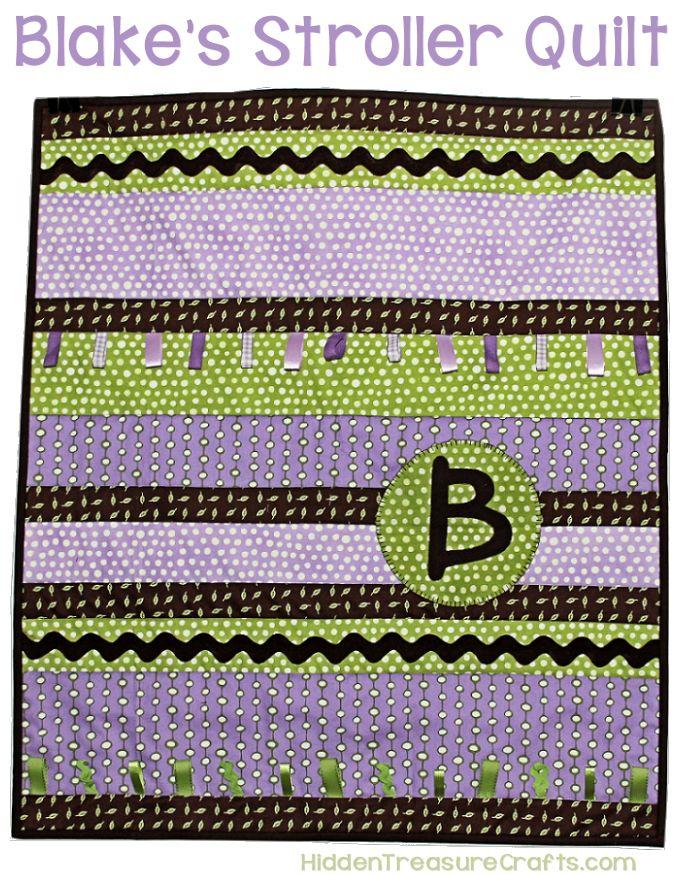 Blake's Stroller Quilt