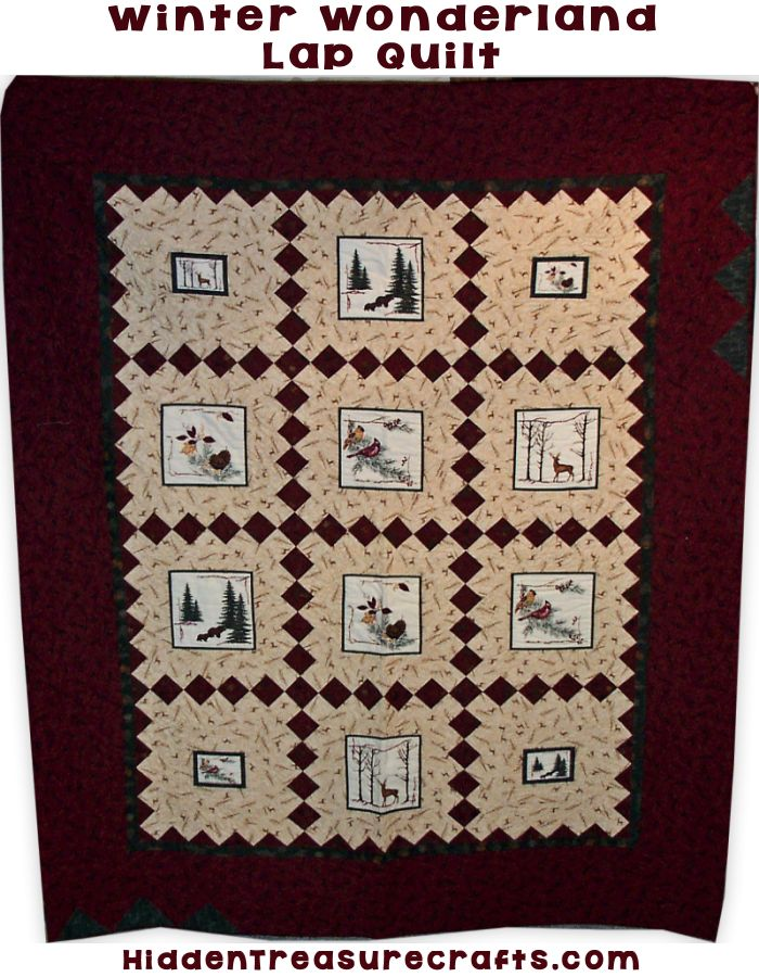 Winter Wonderland Lap Quilt