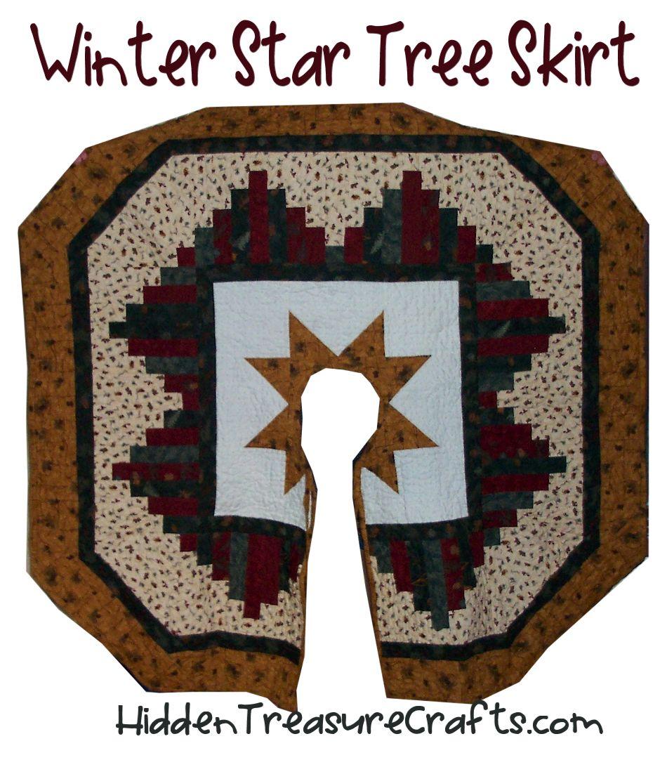 Winter Star Tree Skirt