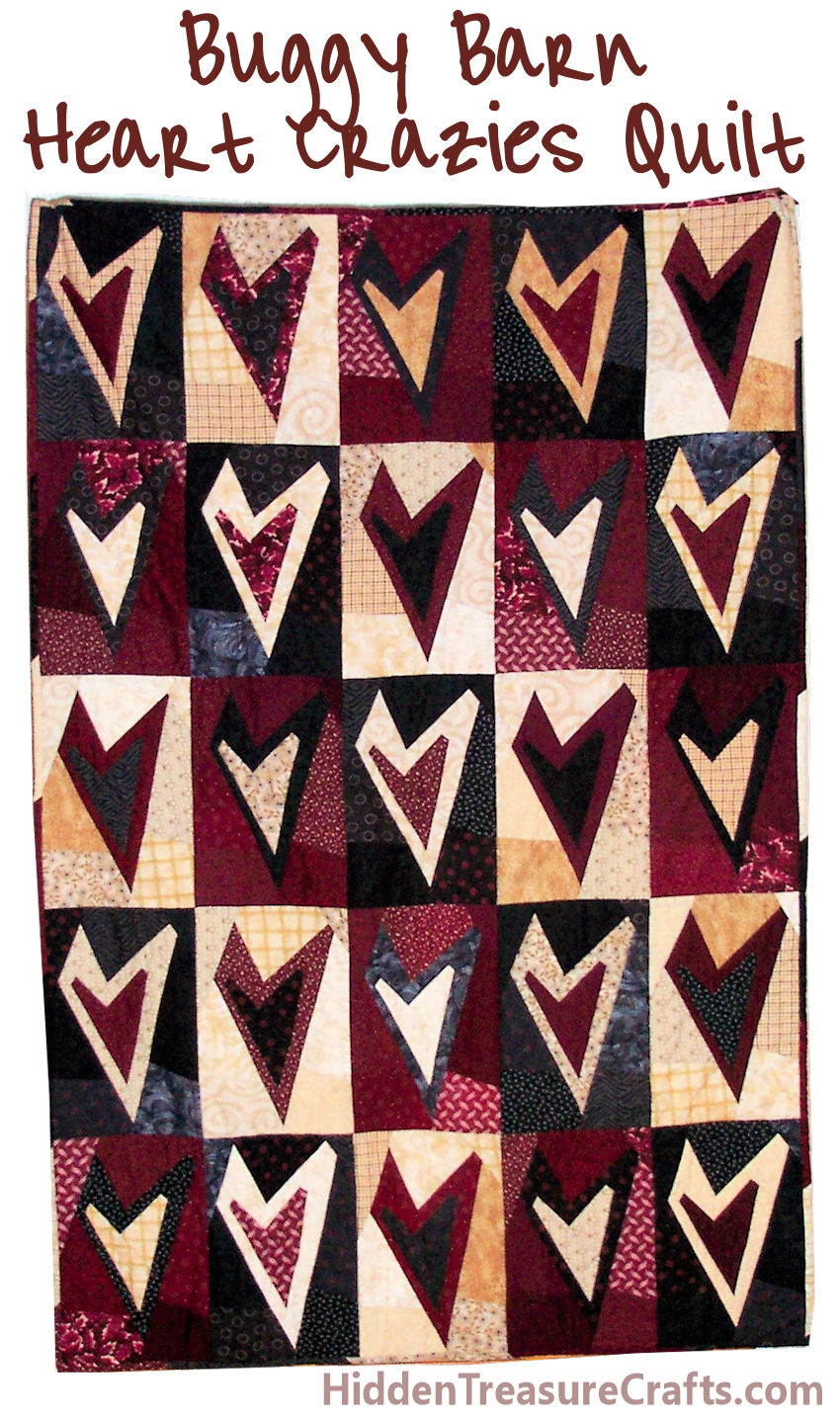 Heart Crazies Quilt