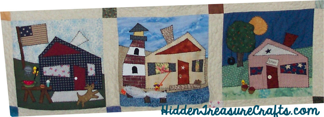 Row 3 Strolling Down the Block Calendar Quilt