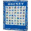 16 Lets Play Hockey Quilt