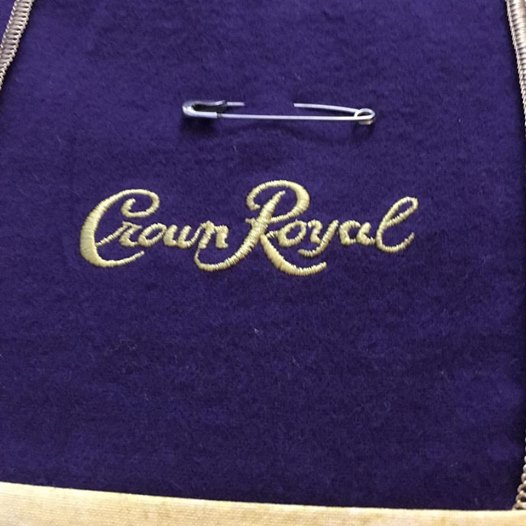 Crown Royal Quilt Block