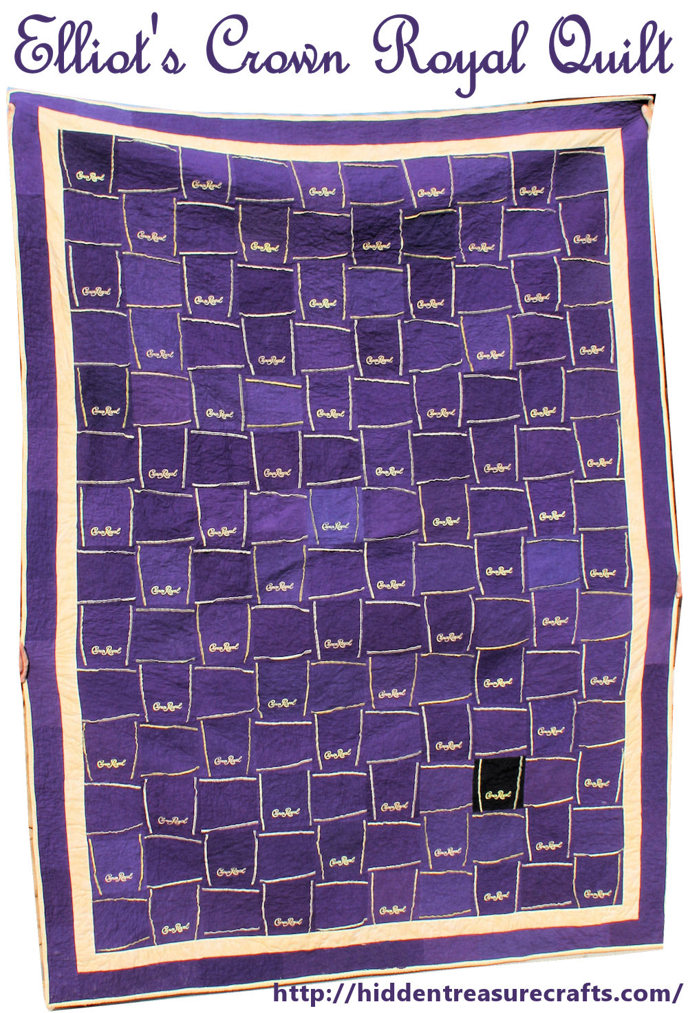 Elliot's Crown Royal Quilt | Hidden Treasure Crafts and Quilting : crown royal quilt pictures - Adamdwight.com