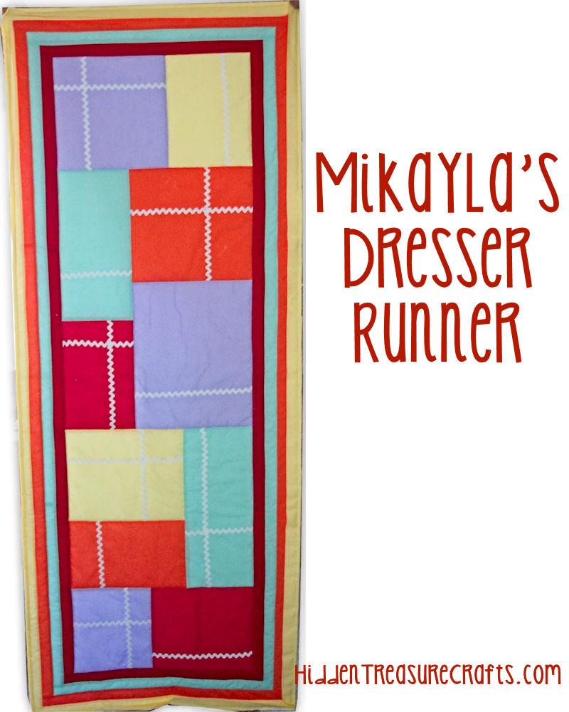 Mikayla's Dresser Runner Quilt